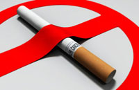 Cigarette with red ribbon-16