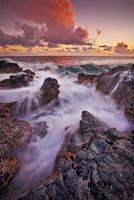 Poipu Lava Sunset