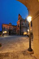 Piazza Pola. Ragusa Ibla. Sicilia. Italy