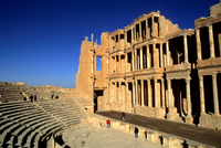 Roman Theatre. Archaeological Site of Sabratha. Libya