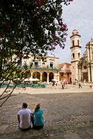 Cuba. Havana. Plaza De San Cristobal