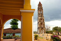 The Iznaga Tower In The Hacienda Manaca Iznaga. Iznaga. Cuba