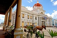 Plaza Jose Marti. Cienfuegos. Cuba