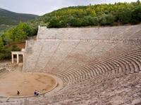 Theater of Epidaurus. Peloponnese. Greece 20053004898| 写真素材・ストックフォト・画像・イラスト素材|アマナイメージズ
