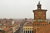 Estense Castle. Ferrara. Emilia Romagna. Italy