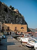Marina Corta. Lipari Island. Aeolian Islands. Sicily. Italy
