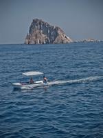 Offshore of Panarea Island. Aeolian Islands. Sicily. Italy