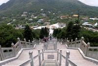 Po Lin Monastery. Lantau Island. Hong Kong. China 20053006058| 写真素材・ストックフォト・画像・イラスト素材|アマナイメージズ