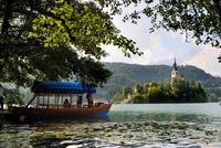 Lake Bled. Slovenia 20053006305| 写真素材・ストックフォト・画像・イラスト素材|アマナイメージズ