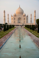 Taj Mahal. Agra. Uttar Pradesh. India. Asia 20053006566| 写真素材・ストックフォト・画像・イラスト素材|アマナイメージズ