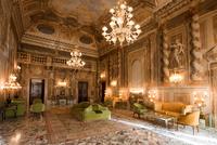 Italy. Tuscany. Siena. Grand Hotel Continental