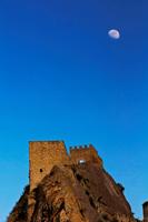 Italy. Sicily. Sperlinga. The Castle