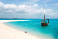 Zanzibar. Tanzania. Prison Island. The Beach