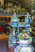 Italy. Campania. Amalfitana Coast. Vietri. Ceramics Shop