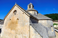 France. Provence. Gordes. Senanque Abbey