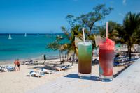 Caribbean. Jamaica. St Annes. Ocho Rios. Cocktails