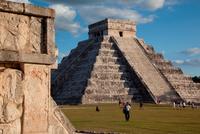 Mexico. Yucatan. Chichen Itza. El Castillo