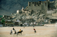 India. Jammu and Kashmir. Ladakh. Leh. Polo Game