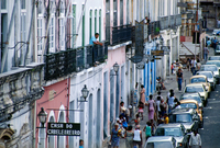 Brazil. Bahia. Salvador De Bahia. Pelourinho Historical District.
