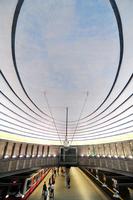 Poland. Warsaw. Wilson Metro Station
