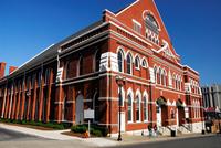 Usa. Tennesse. Nashville. Ryman Auditorium 20053009904| 写真素材・ストックフォト・画像・イラスト素材|アマナイメージズ