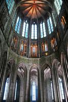 France. Normandy. Mont Saint Michel Abbey