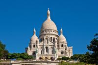 France. Ile De France. Paris. Montmartre. Sacre Coeur Basilica