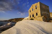 Italy. Sicily. Punta Bianca