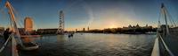 England. London. Landscape On The Thames