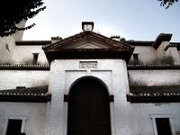 Spain. Andalusia. El Rocio Village. Village Ermita Del Rocio Church