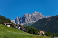 Italy. Trentino Alto Adige. Rosengarten Mountain. Dolomite. Catinaccio.