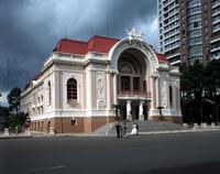 Municipal Theatre. Ho Chi Minh (saigon) Vietnam.