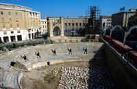 Apulia. Lecce. The Roman Theater