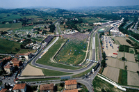 Emilia Romagna. Imola. The Autodrome. From The Air
