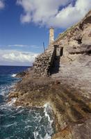 Lazio. Santo Stefano Island. The Prison