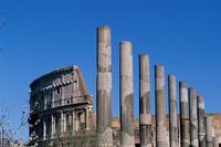 Lazio. Rome Colosseum