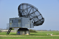 Warzburg Riese radar at Douvres-la-Delivrande, Normandy, France. (Photo by: Arterra/UIG)