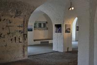 Casemate inside the pentagonal Fort Napoleon in the dunes at Ostend, Belgium. (Photo by: Arterra/UIG)
