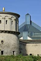 Fortress Vauban / Fort Thangen and the Grand Duke Jean Museum of Modern Art / Musee d'art moderne Grand-Duc Jean / Mudam at Kirc