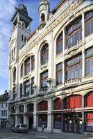 The festival and art center De Vooruit in Ghent, Belgium. (Photo by: Arterra/UIG)