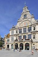 The theatre at the Saint Bavo's quare in Ghent, Belgium. (Photo by: Arterra/UIG)