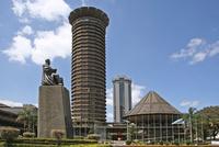 The Kenyatta International Conference Centre / KICC in Nairobi, Kenya, East Africa. (Photo by: Arterra/UIG)