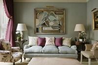 home in classic English style in London's Belgravia 20054000392  写真素材・ストックフォト・画像・イラスト素材 アマナイメージズ