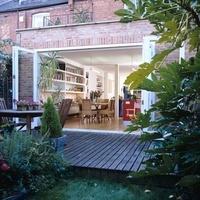 London conversion and kitchen extension by architect Alex Mi