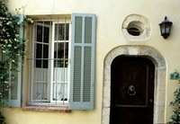 French townhouse period renovation furnished with painted fu 20054001216  写真素材・ストックフォト・画像・イラスト素材 アマナイメージズ