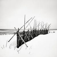 Snow Fence, Hokkaido, Honshu, Northern Japan