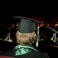 High School Students At Gatton Academy In Graduation Cap And