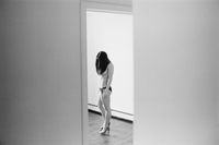 Attractive Young Caucasian Woman Semi-Nude In A Bikini Botto 20055010777| 写真素材・ストックフォト・画像・イラスト素材|アマナイメージズ