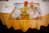 The Partially Finished Meal Of An Elderly Person. 20055010818| 写真素材・ストックフォト・画像・イラスト素材|アマナイメージズ