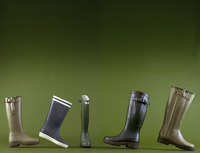 Row Of Boots